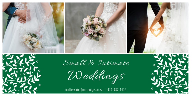 Small & Intimate Weddings [NEWS]