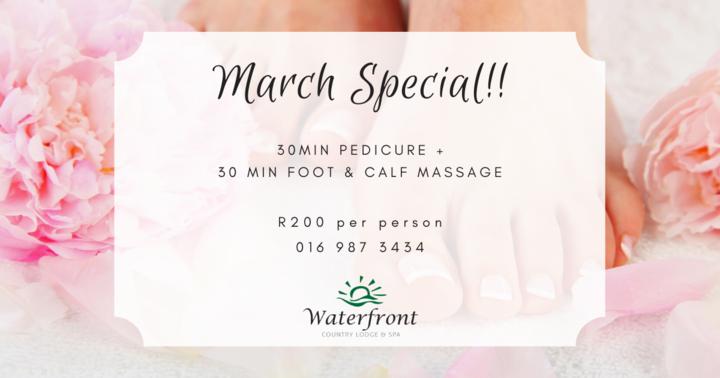 March Spa Special